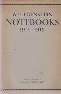 【德英对照】1914-1916年笔记