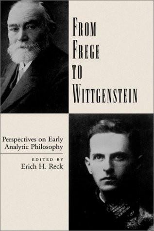 【英】从弗雷格到维特根斯坦:关于早期分析哲学的观点